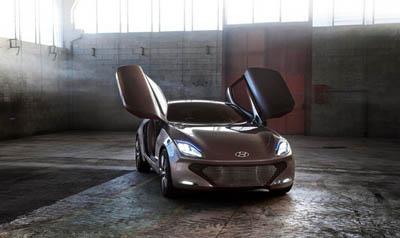Концептуальный гибридный спорткар Hyundai i-ioniq