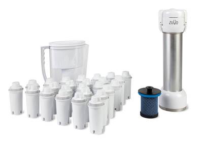 Фильтр для воды Zuvo с ультрафиолетово-озоновой системой очистки