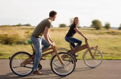 деревянный велосипед Bough Bikes