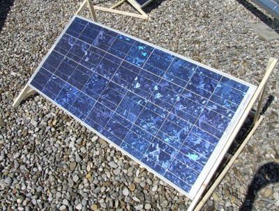 Экологичная биоразлагаемая солнечная панель из отходов древесного производства