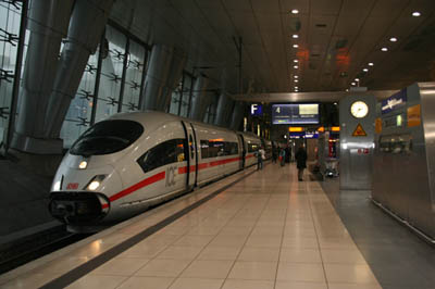 вокзал Deutsche Bahn