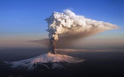 Вулканы спасают Землю от глобального потепления