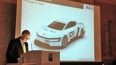 Volkswagen работает над выпуском суперэкономичной модели XL1