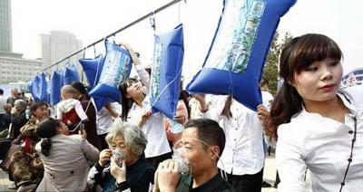 Передышка от вредных выбросов - новая услуга в Китае