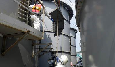 На АЭС в Фукусиме автоматически остановлена работа системы очистки радиоактивной воды