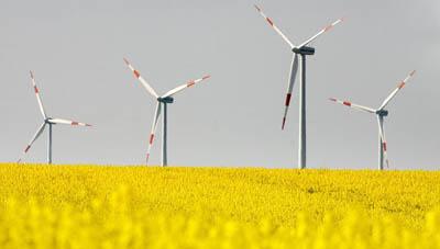 Ветряная энергетика в Испании преобладает над АЭС
