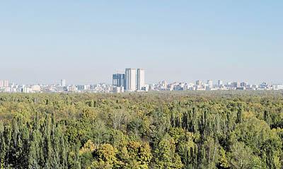 В воздухе Москвы стало меньше вредных веществ