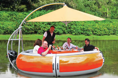 Barbecue Dining Boat – лодка для любителей барбекю
