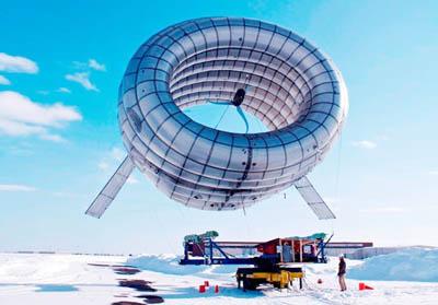 Первый в мире летающий ветряк прошел испытания над Аляской