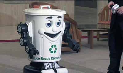 Curby the Recycling Robot