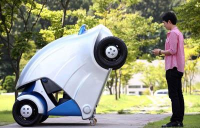 Складной электромобиль Armadillo-Т для города
