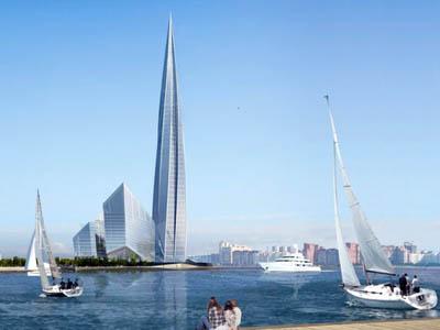 «Лахта-Центр» в Санкт-Петербурге станет образцом «зеленого строительства»