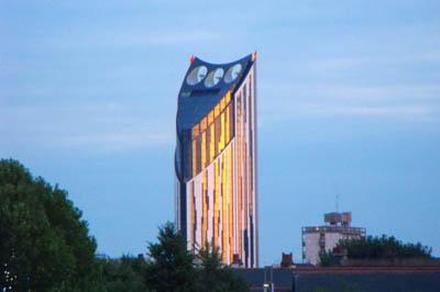 Strata Tower SE1 - небоскреб с ветряной электростанцией
