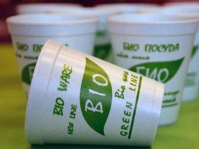 В Белоруссии начали производить биоразлагаемую посуду