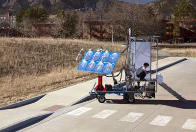 эко-туалет на солнечной энергии