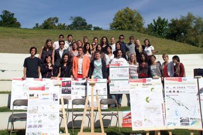 Магистрант НИ ИрГТУ, в составе команды, представил лучший проект по преобразованию Парижа