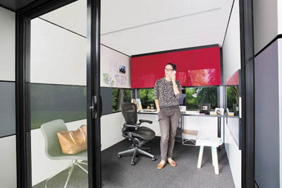 мини-офис Harwyn Pod