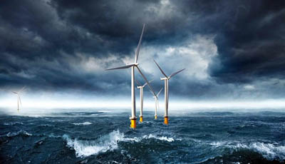 Крупные оффшорные ветроэлектростанции могут стать достойной альтернативой дамбам и волнорезам