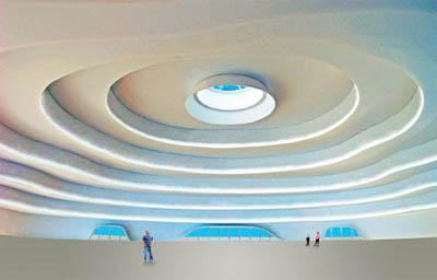 проект интерьера павильона Майкла Янцена