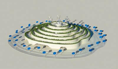 Будущее земледелия в павильоне Майкла Янцена