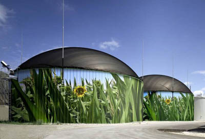 Во Франции растет популярность биогазового топлива