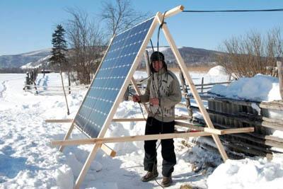 Заповедная глубинка в Башкортостане электрифицирована за счет солнечной энергоустановки