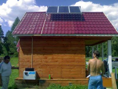 солнечные панели в частном секторе
