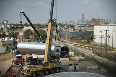 Plant Chicago - вертикальная ферма и переработка пищевых отходов