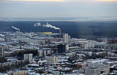 Предприятиям Екатеринбурга предлагается сократить выбросы в атмосферу к ЧМ-2018