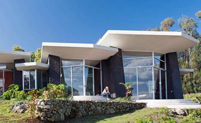 Климатически-нейтральный эко-дом Hiilani на две семьи на Гавайях