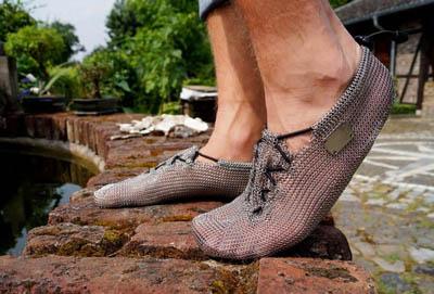 Обувь Paleo из металлической кольчуги для занятий спортом при естественном положении ног