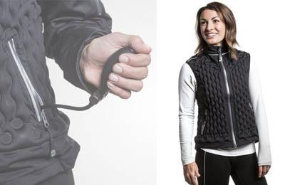 Надувные спортивные эко-куртки Nudown для максимального термокомфорта