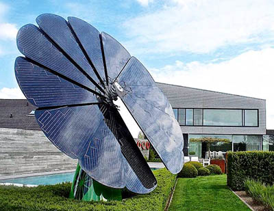 Солнечный Цветок Smartflower – генератор энергии для дома и электромобиля