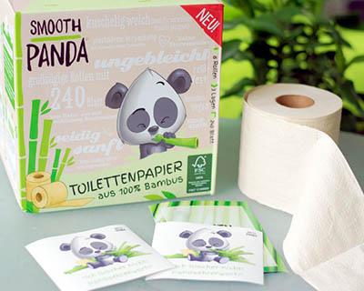 Бамбуковая туалетная бумага от Smooth Panda
