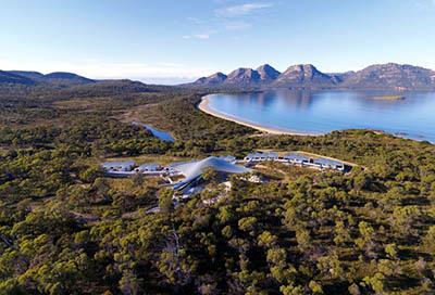 Эко-курорт Saffire на острове Тасмания, Австралия