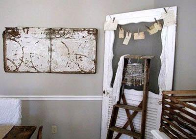 Старые двери как вторсырье. Что изготовить из ненужных дверей?