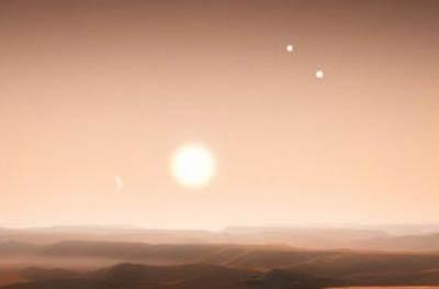 Астрономы обнаружили в Космосе систему из трех звезд KIC 2856960