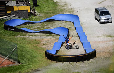 Модульные велодромы Bikeparkitect для активных занятий спортом