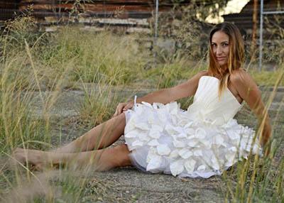 Свадебное платье из пива от австралийской компании Nanollose