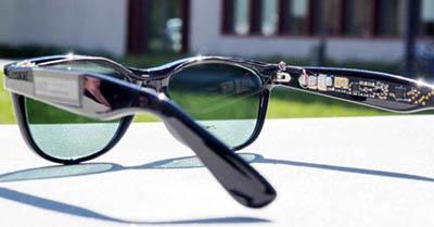 Уникальные линзы из солнечных батарей для солнцезащитных очков
