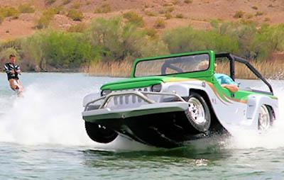 Panther – самый быстрый автомобиль-амфибия