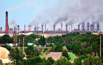 Контроль загрязнения окружающей среды предприятиями