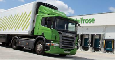 Грузовики супермаркетов Waitrose в Англии будут работать на биометане