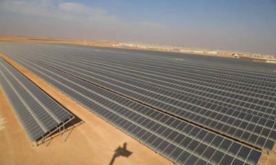 В лагере для сирийских беженцев в Заатари построили солнечную электростанцию