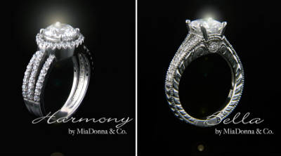 MiaDonna Diamond Wedding Rings