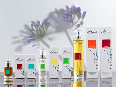 Французские органические духи компании Altearah