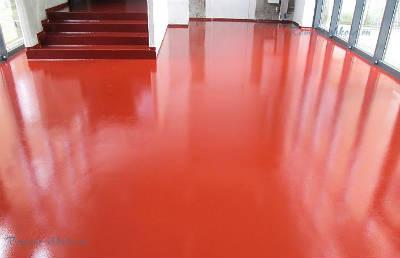 Моноуретан – высокопрочное покрытие для бетонного пола