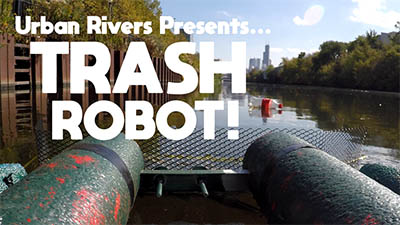 Trashbot Urban Rivers