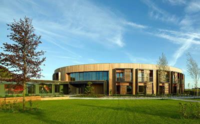 Энергонезависимый корпоративный бизнес-центр обувной компании Ecco в Дании