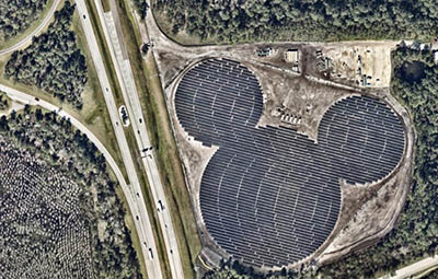 Walt Disney World Resort Solar